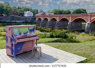 Latvia The Old Bridge and Rumba