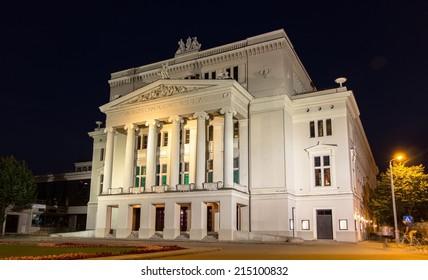 Latvian National Opera in Riga