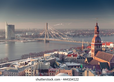 Latvias Capital - Riga from a bird's eye view