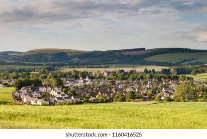 Lauder Skyline.  A view of the Lauder skyline, a town situated in the Scottish Borders.