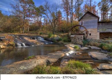 Laudermilk Gristmill in Northeast Georgia, USA.