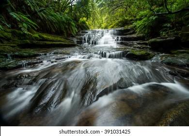 Lauera cascade in Blue mountains.