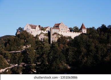 Laufen Castle at the Rheinfalls
