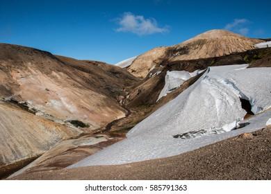 Laugavegur Trail, Landmannalaugar, Iceland
