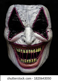 Laugh Riot Light-Up Mask Isolated Against Black Background