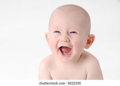 Laughing baby boy 1