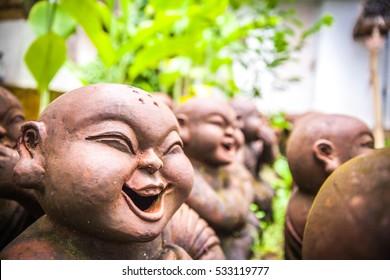 laughing little Buddha