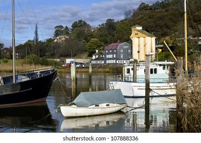 Launceston boats, Tasmania, Australia