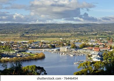 Launceston on the Tamar River, Tasmania, Australia