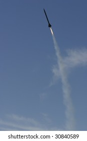 Launch of an AP composite Rocket