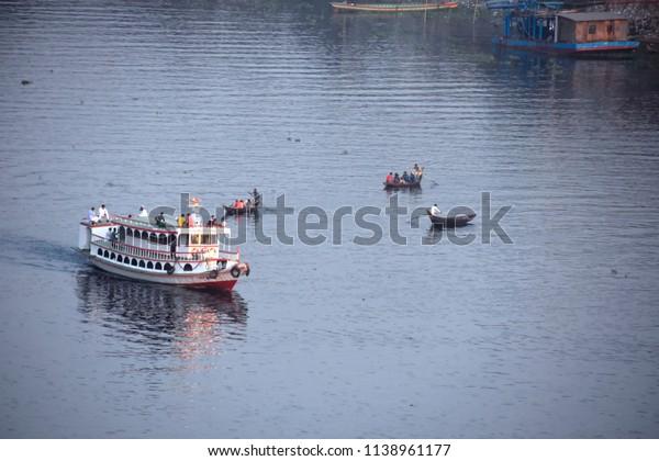 launch on the river,21july2018,dhaka,bangladesh