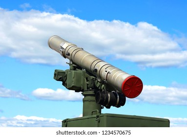 Launch tube -  container of a modern russian anti-tank missile system