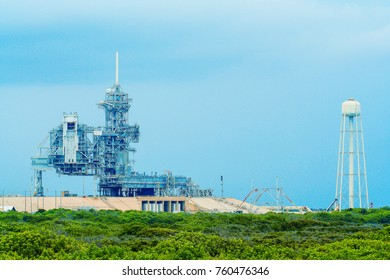 Launchpad and blue sky