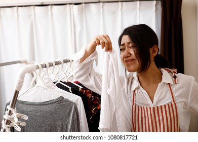 Laundry and Asian women