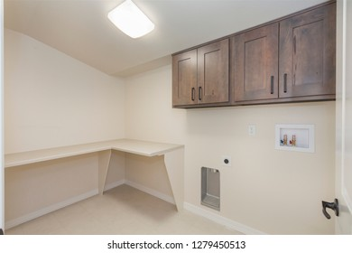 Laundry Room with Hook-ups