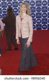 LAURA DERN at the 2004 IFP Independent Spirit Awards on the beach at Santa Monica, CA. February 28, 2004