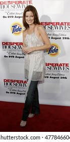 Laura Leighton  at the 'Desperate Housewives: Season 2 - Extra Juicy Edition' DVD Launch Event held at the Wisteria Lane Universal Studios in Universal City, USA on August 5, 2006.