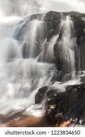 Laurel Falls at Great Smoky Mountains National Park at Great Smoky Mountains National Park