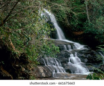 Laurel Falls, Great Smoky Mountains National Park, Tennessee