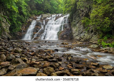 Laurel fork falls along the Appalachian Trail in Tennessee