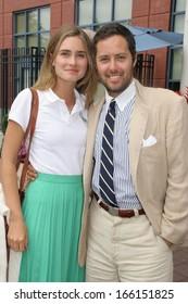 Lauren Bush David Lauren In Ralph Lauren Attending Us Open 2006 Mens Finals