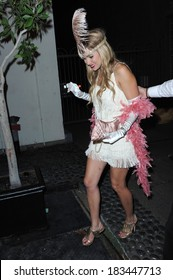 Lauren Conrad in 1920s flapper girl costume in attendance for STK Halloween Costume Party, STK Nightclub, Los Angeles, CA, October 31, 2008 Photo by Maximillion/Everett Collection