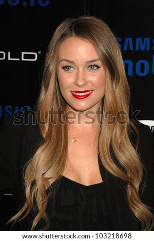 ffaece2856216 Lauren Conrad Samsung Behold Ll Premiere Stock Photo (Edit Now ...