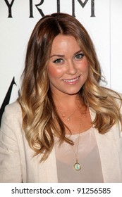"Lauren Conrad at the ""Skyrim"" Official Launch Party, Belasco Theater, Los Angeles, CA 11-08-11"