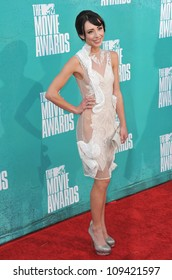 Lauren McKnight at the 2012 MTV Movie Awards at Universal Studios, Hollywood. June 4, 2012  Los Angeles, CA Picture: Paul Smith / Featureflash