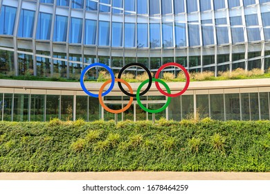 Lausanne, Switzerland - July 13, 2019: Headquarters of the International Olympic Committee