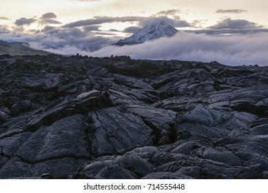 Imágenes, fotos de stock y vectores sobre Volcanic Rock Mountain