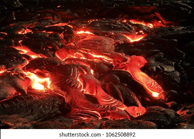 Lava Flow at Kilauea