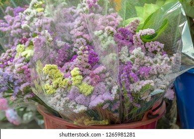 lavender  flowers  Sold at the market