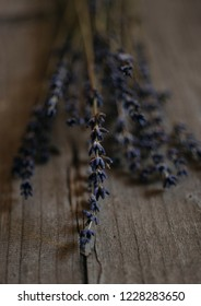 lavender on wood