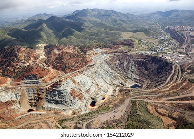 Lavender Open Pit mine in Bisbee, Arizona