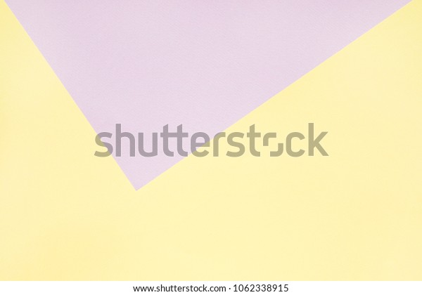 lavender and pastel yellow paper background.