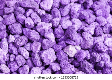 Lavender spa -colored and fragrant lavender pebbles