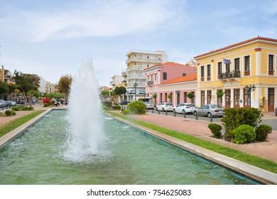 Lavrio Square. Greece, Athens.