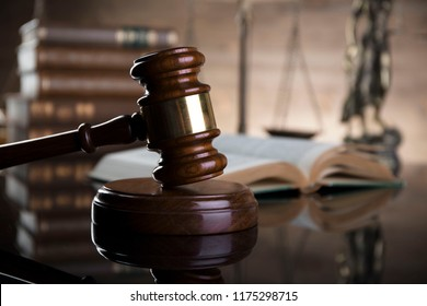 Law code concept.