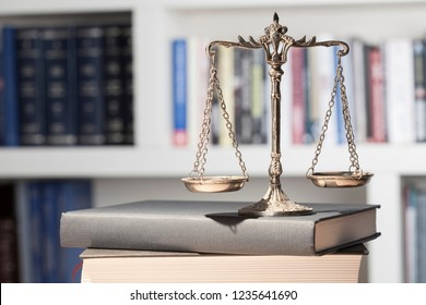 law concept justice scale and gavel