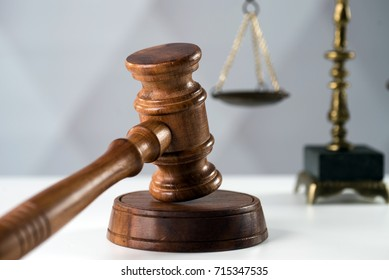 Law concept on bright background