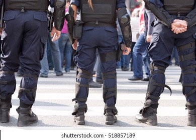 Law enforcement. Police.