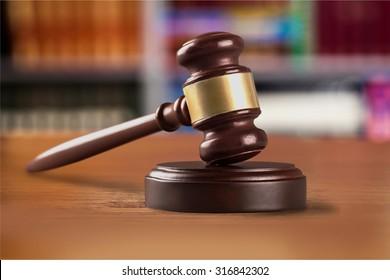 Law gavel.