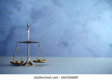 Law and Jusitce concept photo, silver stone background