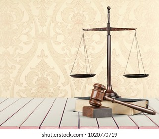Law and Justice concept