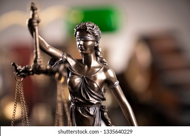 Law and justice concept.