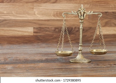 law and justice concept objects