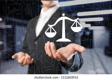 Law Legal Business Internet Technology concept