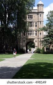 Law quad at the University of Michigan