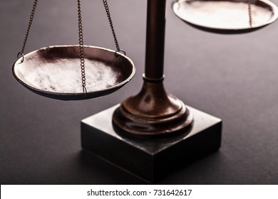 Law scales.